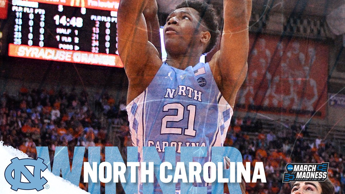 Six in a row for the Tar Heels!   No. 10...