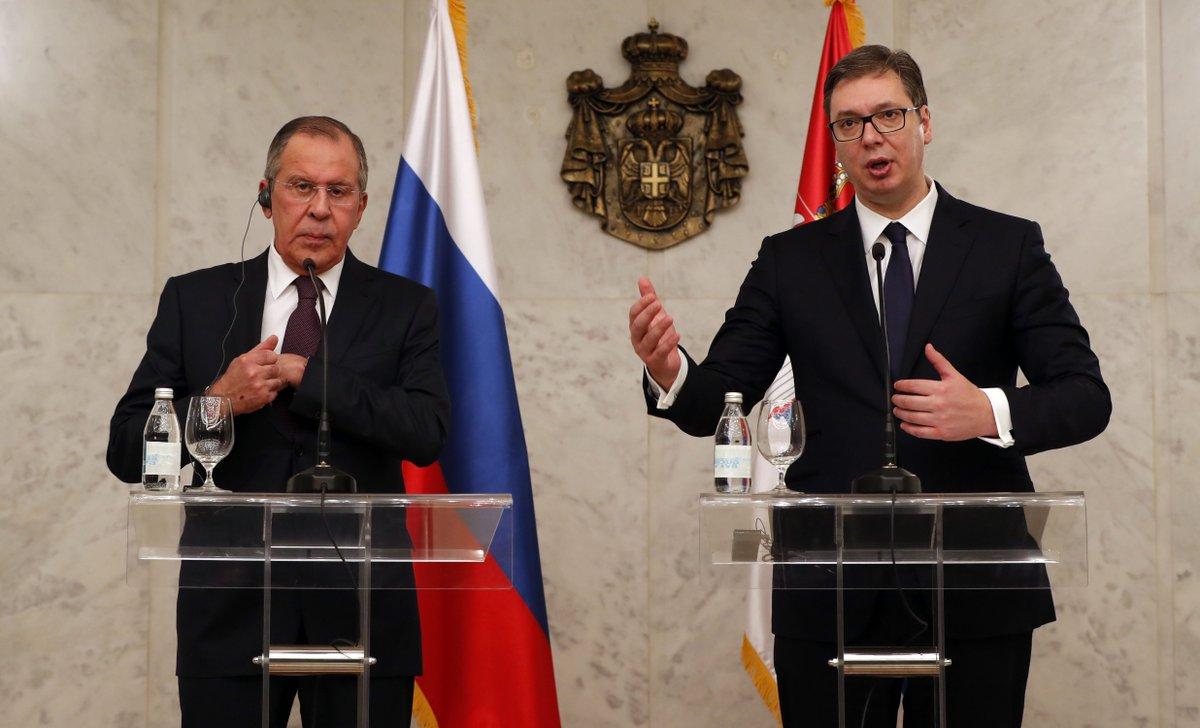 Вучич сообщил о намерении Сербии покупать российский газ по «Турецкому потоку» https://t.co/Kpm3RnDrEl