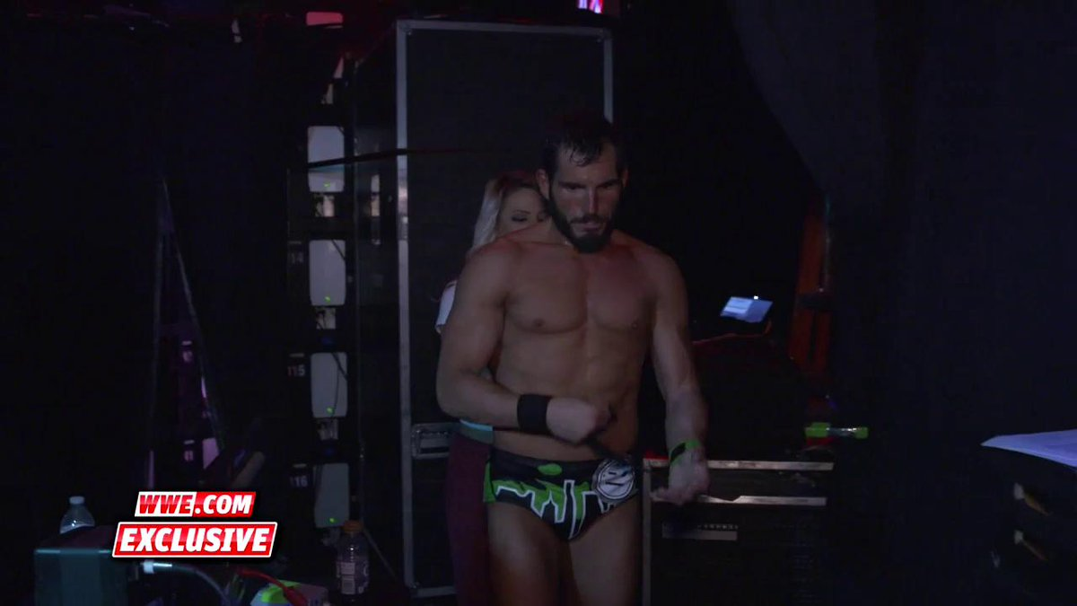 EXCLUSIVE: After yet another crushing loss to #NXTChampion @AndradeCienWWE, @JohnnyGargano exits #WWENXT with @CandiceLeRae by his side.