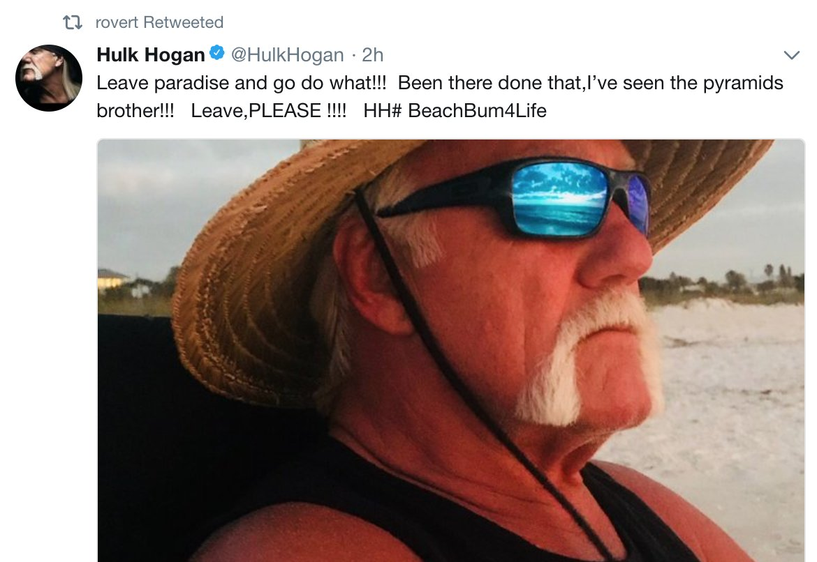 Robbie Fox On Twitter Hulk Hogan Without Long Hair Extensions That