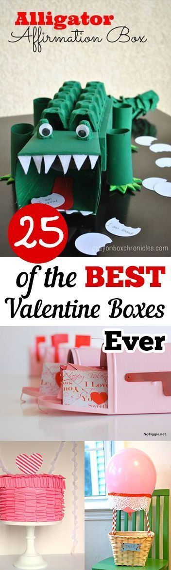 New post (25 of the BEST Valentine Boxes Ever- Fun and creative Valentine's Day boxes ...) has been published on Happy Valentine Day - happy-valentinesday.info/25-of-the-best…