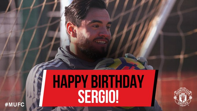 Happy birthday to keeper Sergio Romero! Have a great day! ??