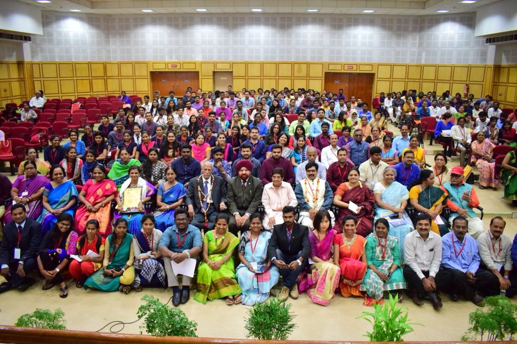 Asked students doing BSW or MSW to intern with an NGO right from the very beginning. So that they learn practical work with concepts.  These are pictures of today's event at Puducherry Univ.  With VC of Univ, Dr Gurmit Singh.  We shall link SW students with NGOs in Pondicherry..