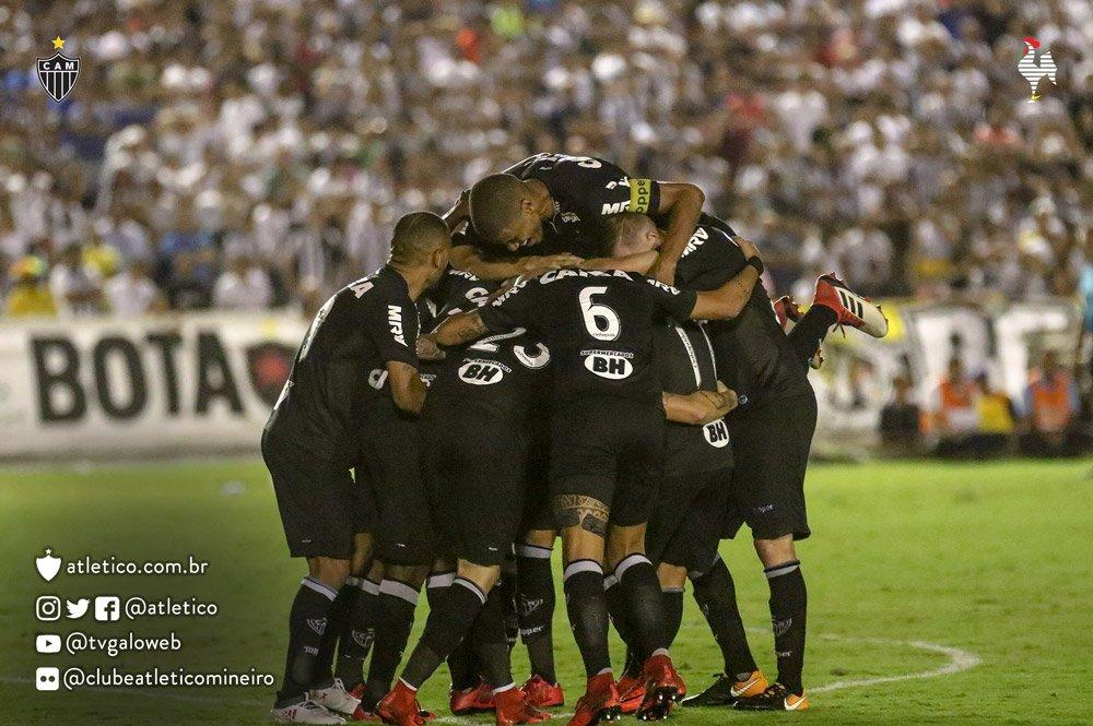 📸 Galo na Paraíba! Confira o álbum com as melhores fotos da goleada do Atlético sobre o Botafogo-PB, pela 2ª fase da Copa do Brasil: https://t.co/EsMS0HmBRw Vamos, #Galo! #BOTxCAM
