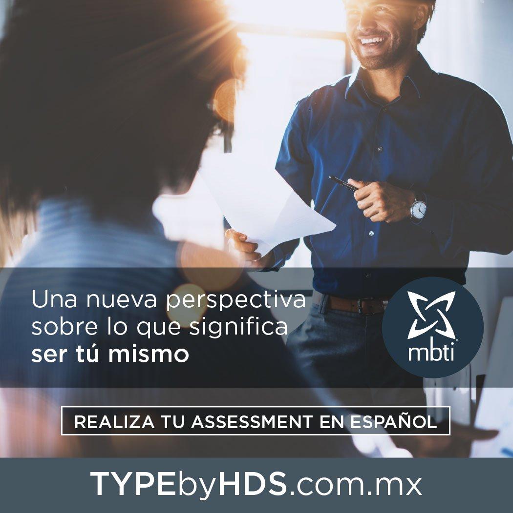 """TYPEbyHDS على تويتر: """"#MBTI®, una nueva perspectiva sobre lo que significa  ser tú mismo. Realiza tu #assessment #MyersBriggs® oficial en #Español  ▻https://t.co/ktnGaq3KmJ #Autoconocimiento #Desarrollo  #CrecimientoPersonal… https://t.co/zb9zxvvdcv"""""""