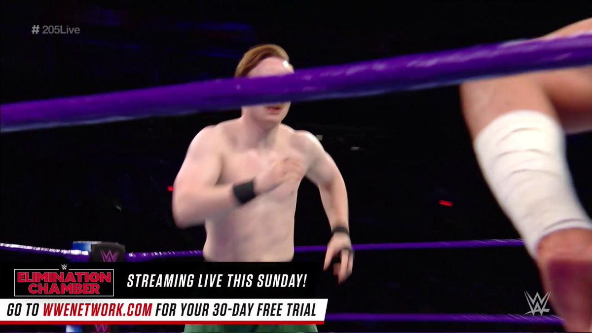 The action was back-and-forth between @MustafaAliWWE & @GentlemanJackG in the final first round match of the @WWE #Cruiserweight Championship tournament on #205Live!