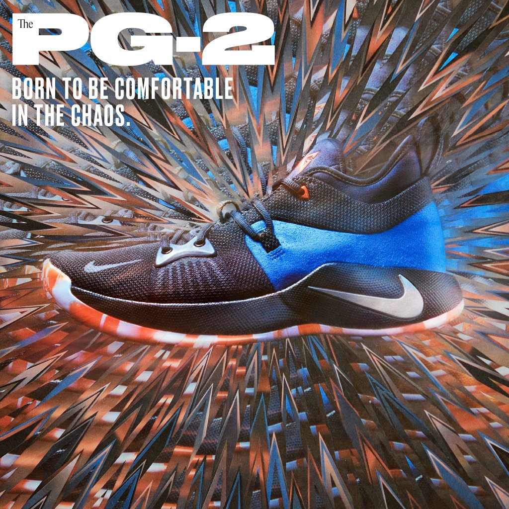 new arrival 82051 4f127 Calm in chaos. #nike pg-2