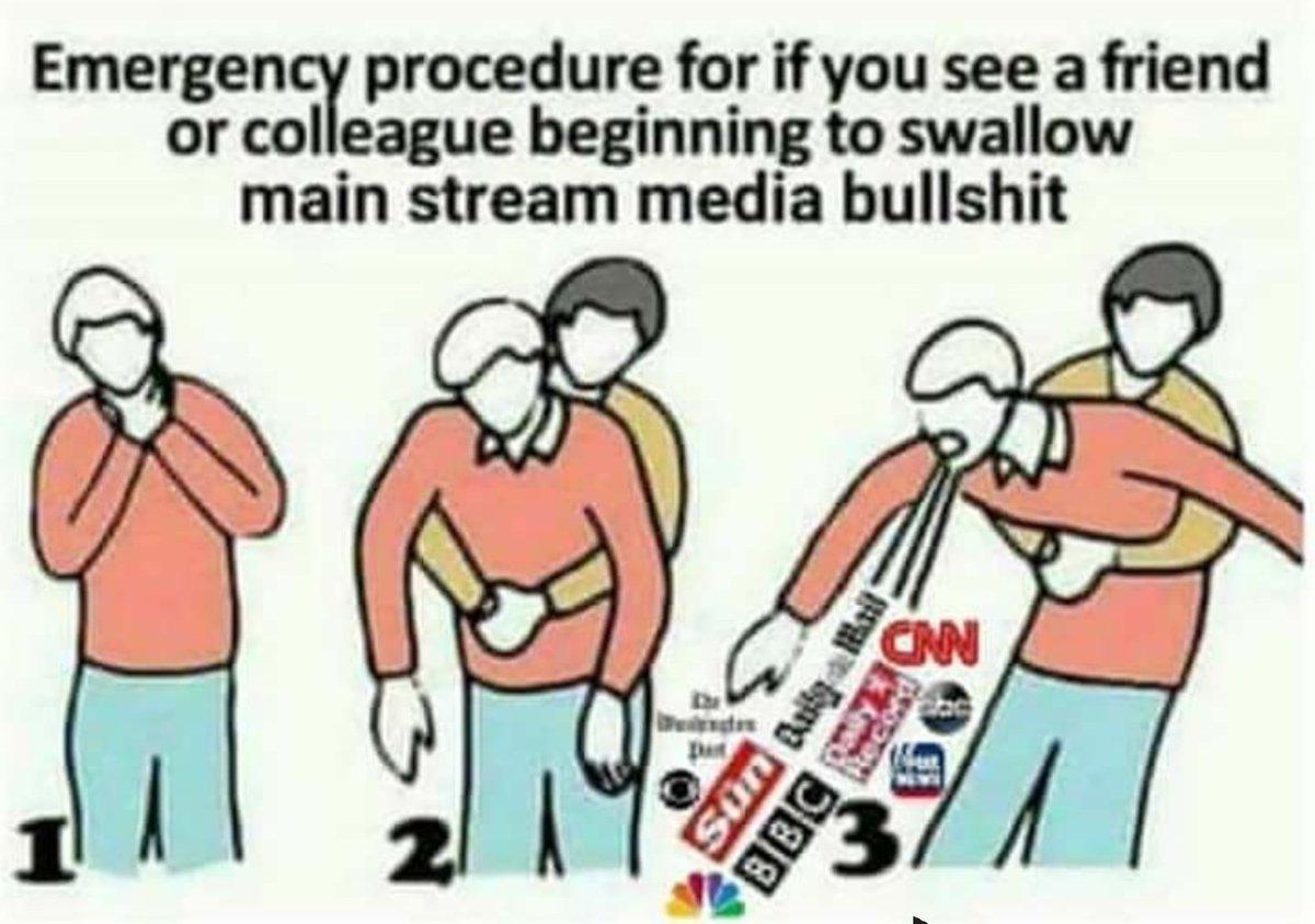 Follow the steps. Save SOMEONE from #Bullshitnews 🙈🙉🙊🇺🇸