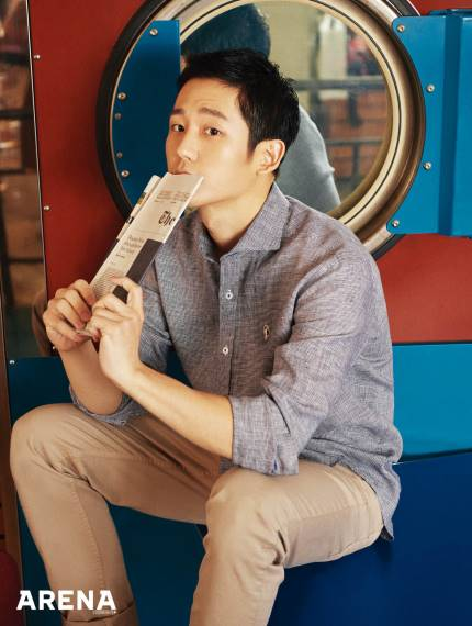 📸 Jung Hae In teams up with brand JILL S...