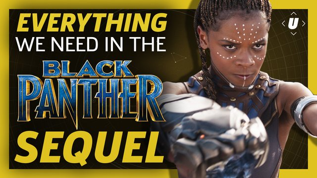 Everything a #BlackPanther sequel needs...