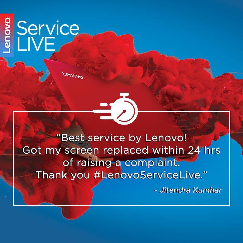 Lenovo India Support on Twitter: