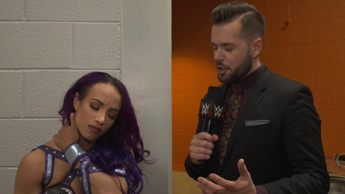 The #LegitBoss @SashaBanksWWE knows its EVERY woman for herself this Sunday at #WWEChamber...