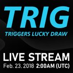 Image for the Tweet beginning: #Binance live stream for $Trig