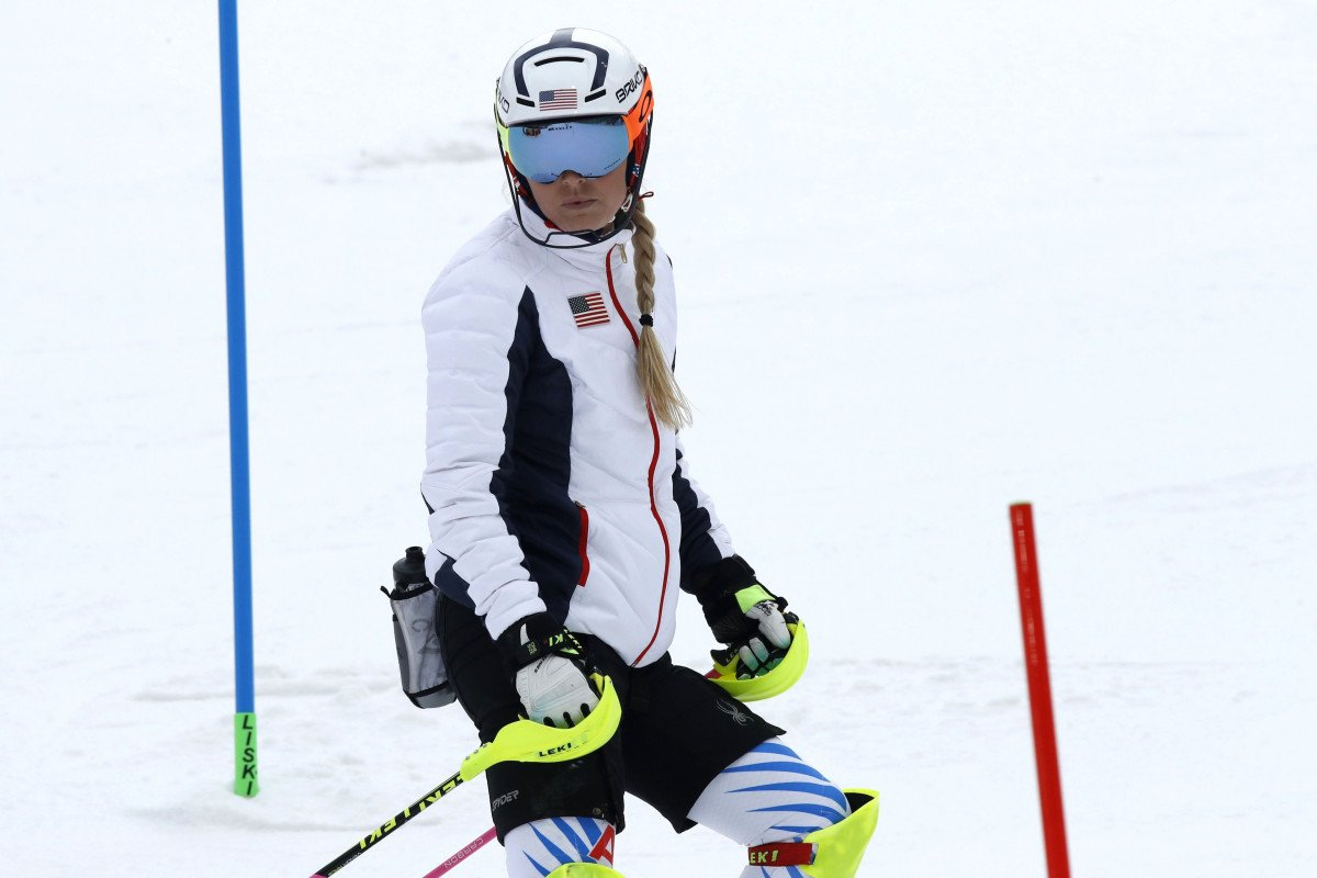 Lindsey Vonn fails to finish, Shiffrin takes silver in alpine combined nyp.st/2onRiO9