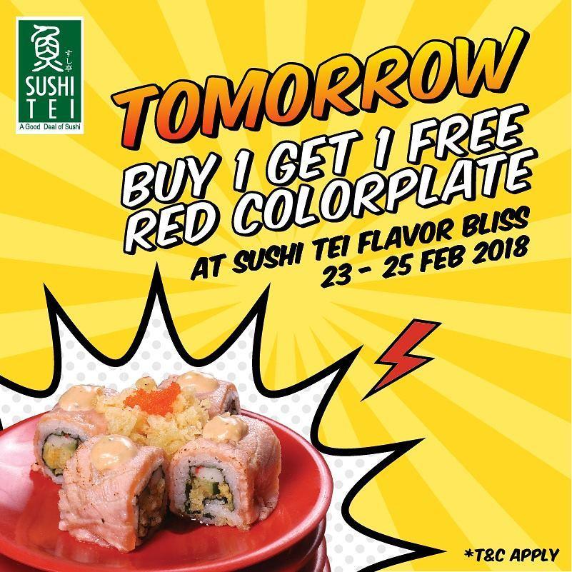 Sushi Tei Indonesia On Twitter Hi Kak T C Hanya Berlaku Untuk Colorplate Di Belt Tidak Berlaku By Order Tidak Ada Minimum Transaksi Berlaku Kelipatan Dan Untuk Dine In Only