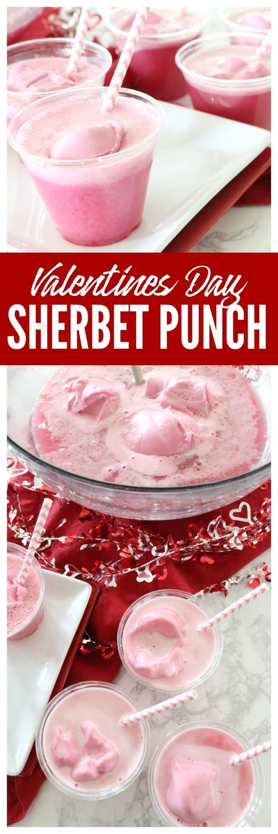 New post (This Pink Sherbet Punch Recipe Made With Sprite is the Perfect Punch Recipe for ...) has been published on Happy Valentine Day - happy-valentinesday.info/this-pink-sher…