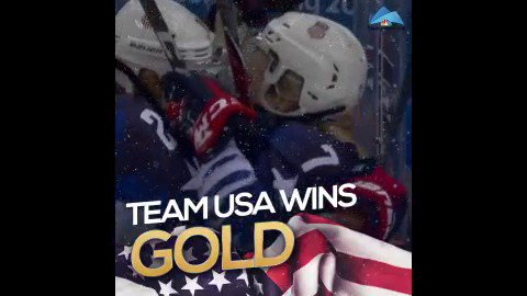 FINALLY! @TeamUSA @usahockey​'s WOMEN WIN THEIR FIRST OLYMPIC GOLD SINCE 1998!