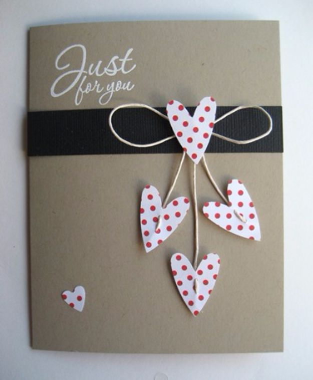 New post (DIY Valentines Day Cards - Just For You Valentines Card - Easy Handmade Cards f...) has been published on Happy Valentine Day - happy-valentinesday.info/diy-valentines…