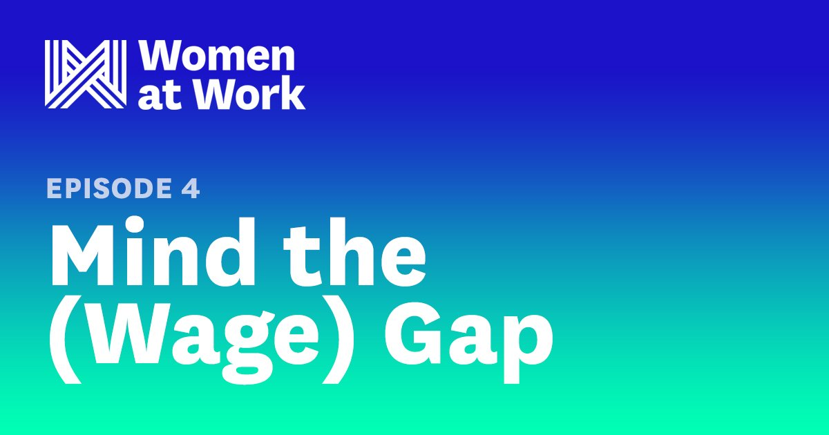 The gender wage gap is real, but it's not as simple as one statistic. Episode 4 of #WomenatWork looks at what happens in women's careers that causes them to earn less than men as they get older https://t.co/7YTwWllK93