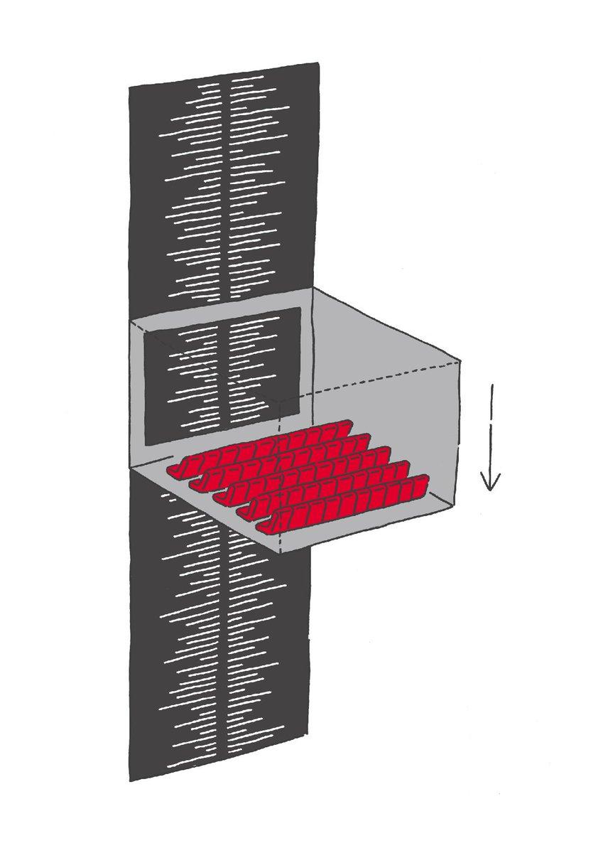 映画館でエンドロールをじっと見てると、映画館がどんどん下に降りてくみたいな感覚になる