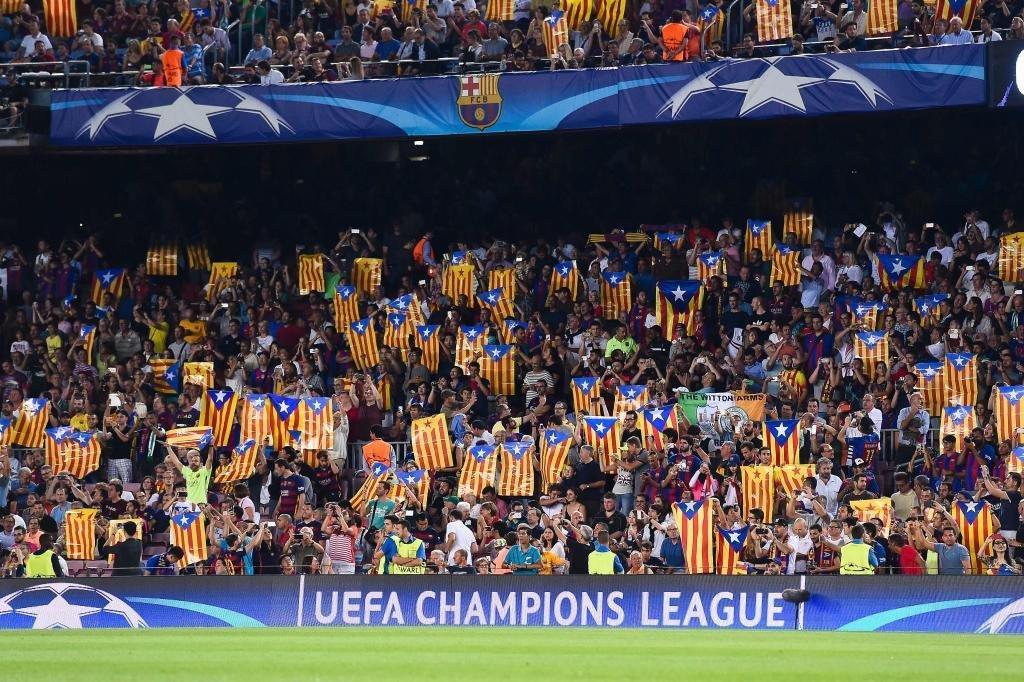 No habrá fiesta independentista en el Camp Nou este verano trib.al/Lf1SgQi Una información de @Luis_F_Rojo