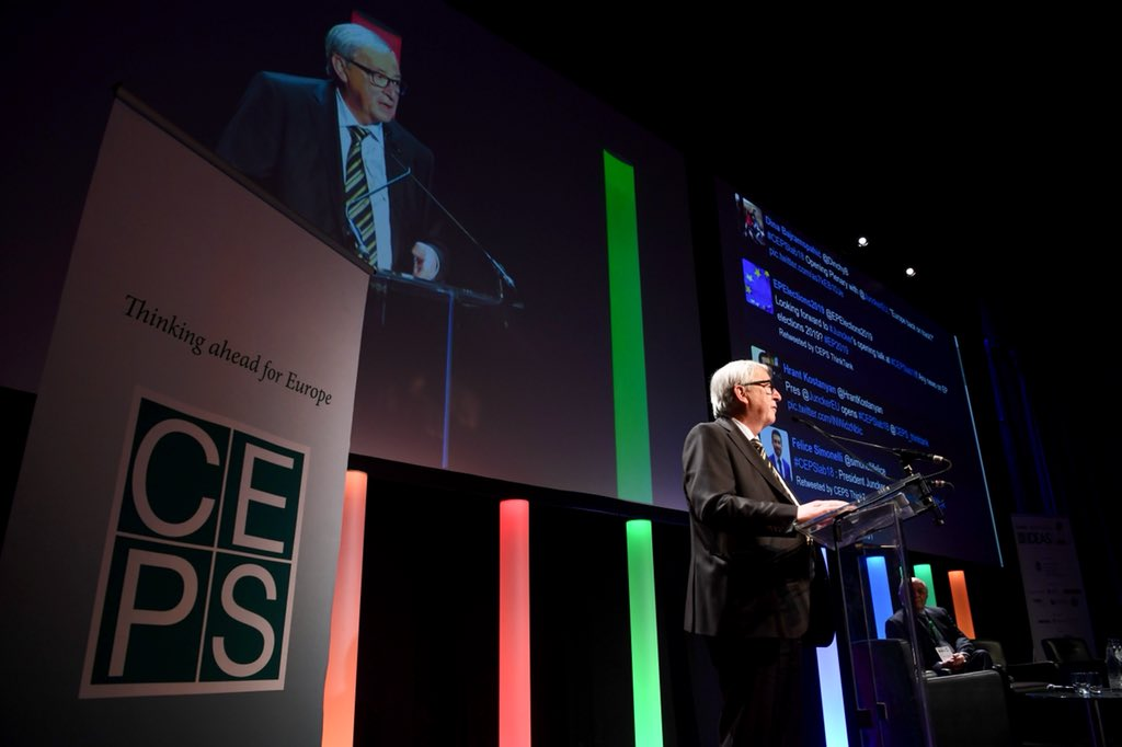 ".@JunckerEU #CEPSlab18 ""We are a Union of #solidarity. In 2016 alone, we offered asylum to three times as many refugees as the US, Australia and Japan combined. Thanks to our pro-active, European approach, we were able reduce arrivals to our shores by 63% in 2017."""