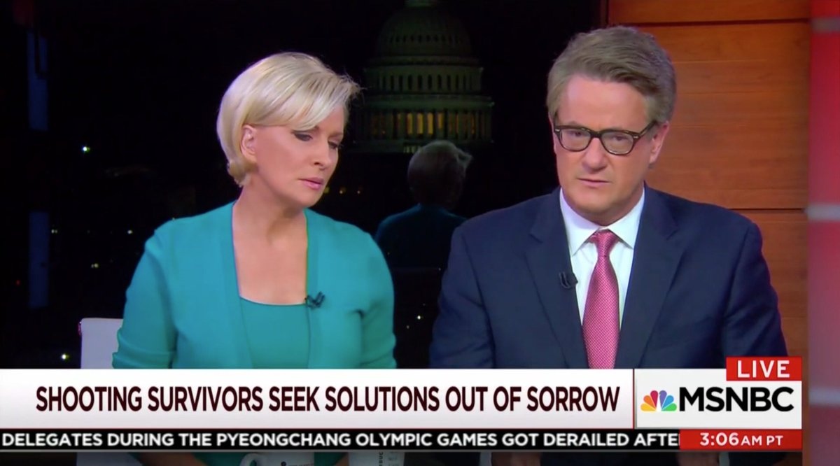 Morning Joe Applauds Trump For Listening Session With Shooting Survivors: 'Thank You, Mr President' https://t.co/PQXGjCqRxe