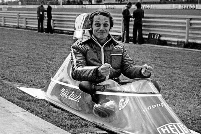 Happy to legend Niki Lauda check out his career highlights at