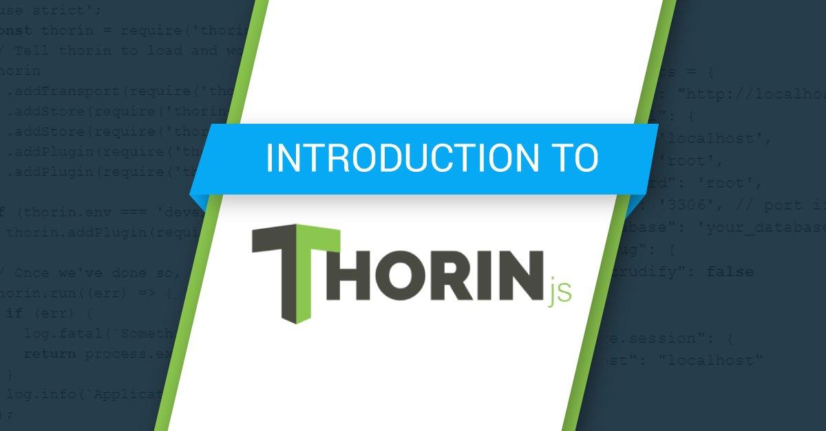 Thorin js (@ThorinJs) | Twitter