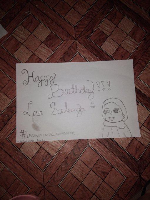 Happy birthday Ms. Lea Salonga