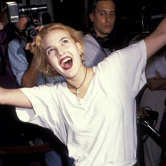 Happy Birthday Drew Barrymore! 43 years a living legend.