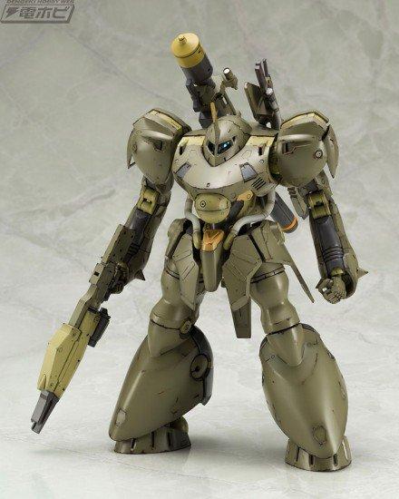 【50RT】#新川洋司 氏デザインの『#フレームアームズ』第2弾!重装甲大型FA...