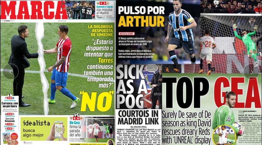 La dolorosa respuesta de Simeone, Pulso por Arthur, Top Gea y otros titulares en #LasPortadas del día 📰👀➡ trib.al/R9ykQG9 #FelizJueves