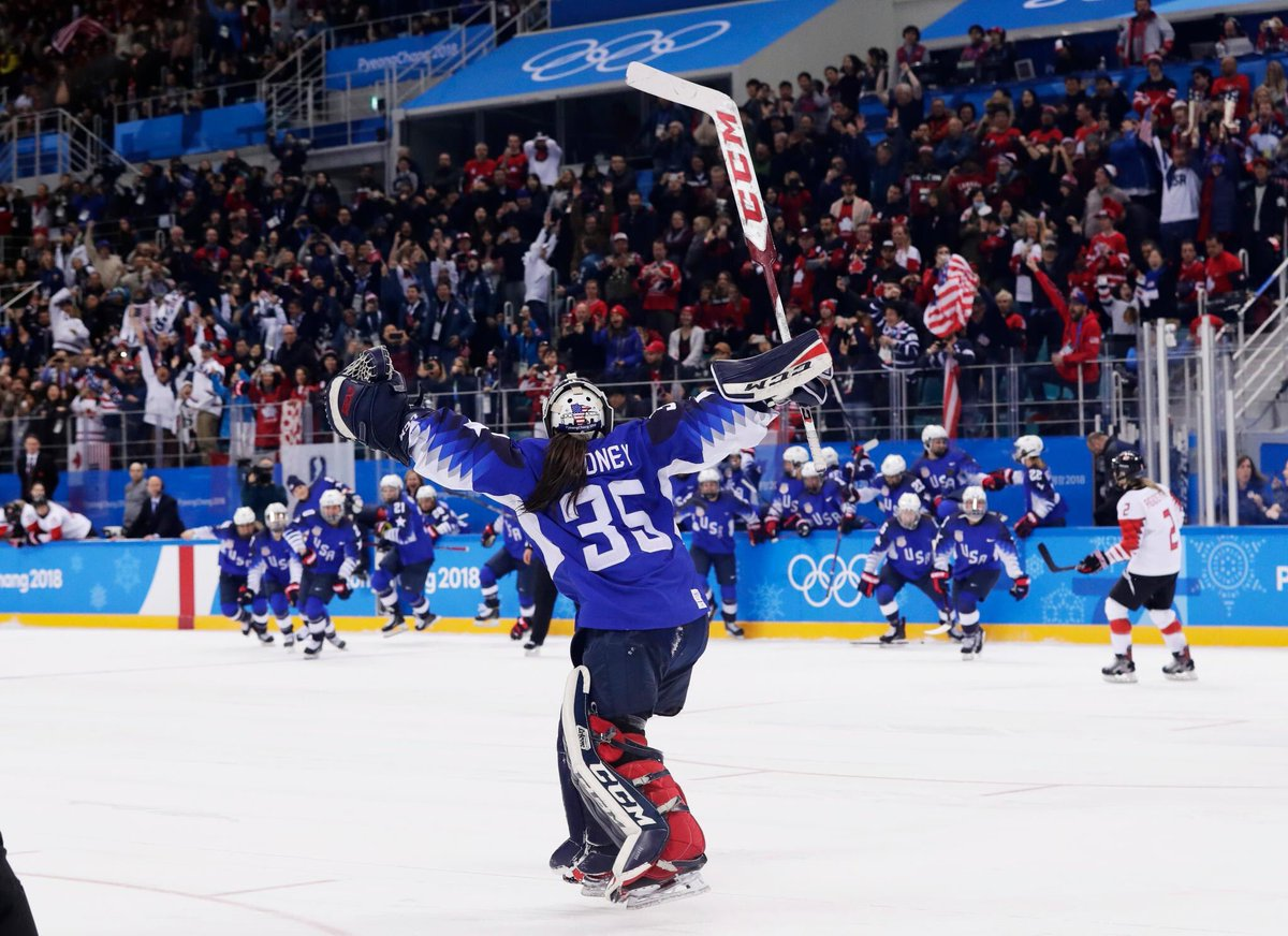 Pyeongchang: This Is 20-year-old Maddie Rooney, USA's Goaltender Who Made 'next Time' Into 'this Time' Against Canada