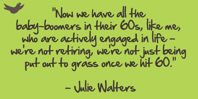 Happy birthday to Dame Julie Walters - born in 1950!
