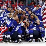 The United States beat Canada to win their first gold medal in women's Olympic ice hockey since 1998 https://t.co/97W9AyFEL5 by @Dan___Burns #PyeongChang2018. More from the Winter Olympics: https://t.co/VXzzuhVZeq