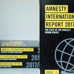Image for the Tweet beginning: Der #Amnesty Report 2017/18 zeigt,