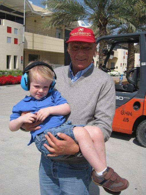 Happy Birthday Mr Niki Lauda!