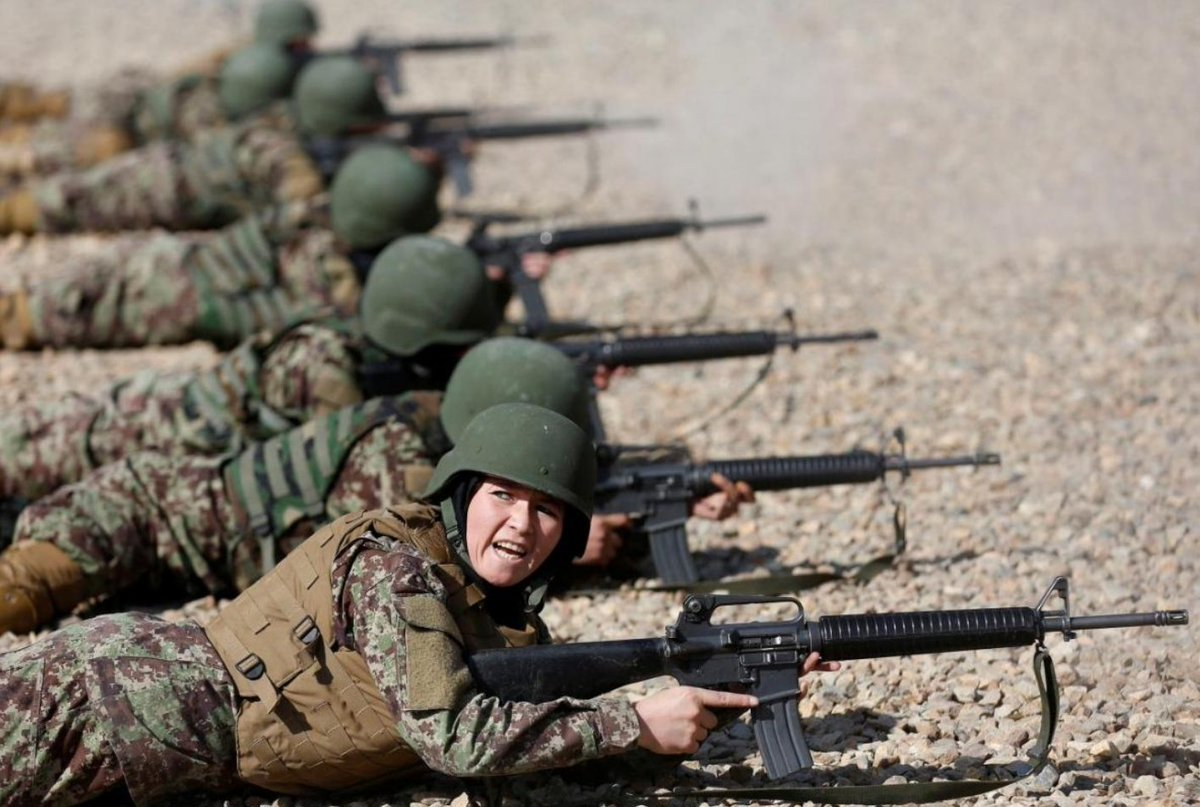 Despite years of investment, the Afghan army fields less than 900 women soldiers, far fewer than the goal of 5,000, according (SIGAR). All the women are literate & will go into 1 of several non-combat roles, including mngmnt, HR, logistics, radio operations, or intelligence.