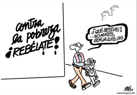 """InspirAction on Twitter: """"Gracias Antonio Fraguas de Pablo #Forges, por  tantas viñetas denunciando siempre desde el humor el escándalo de la # desigualdad. Te recordaremos siempre en ellas! #DesigualdadObscena…  https://t.co/S4GOrPRwW2"""""""