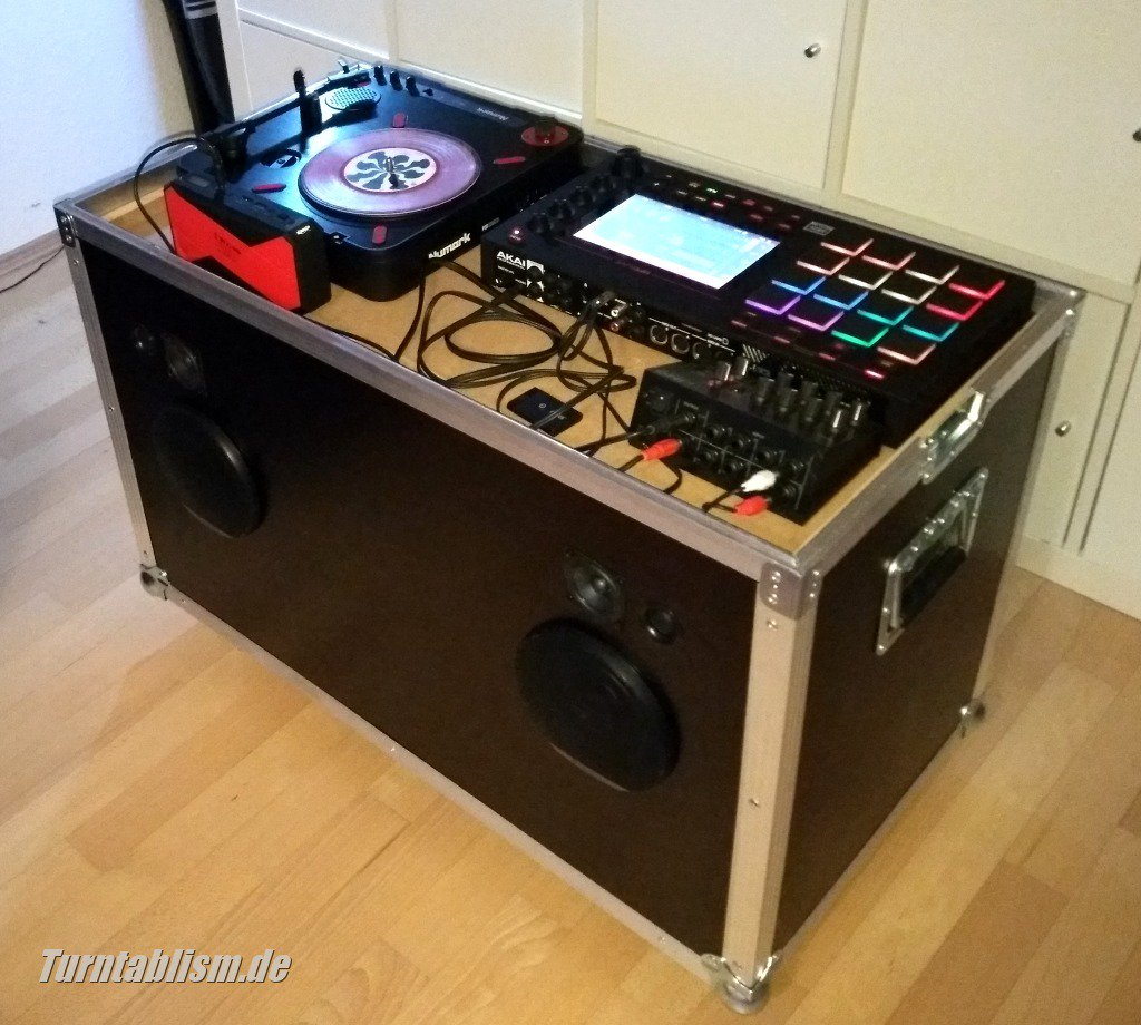Dj Highfly On Twitter My Diy Boombox With 10 Speakers In