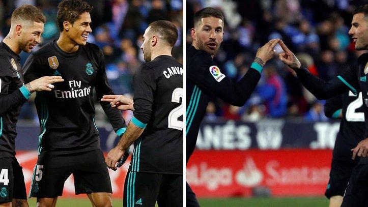 📹 El chof chof, el extraño saludo de dos dedos de @SergioRamos para celebrar su gol trib.al/4Gsw7XK