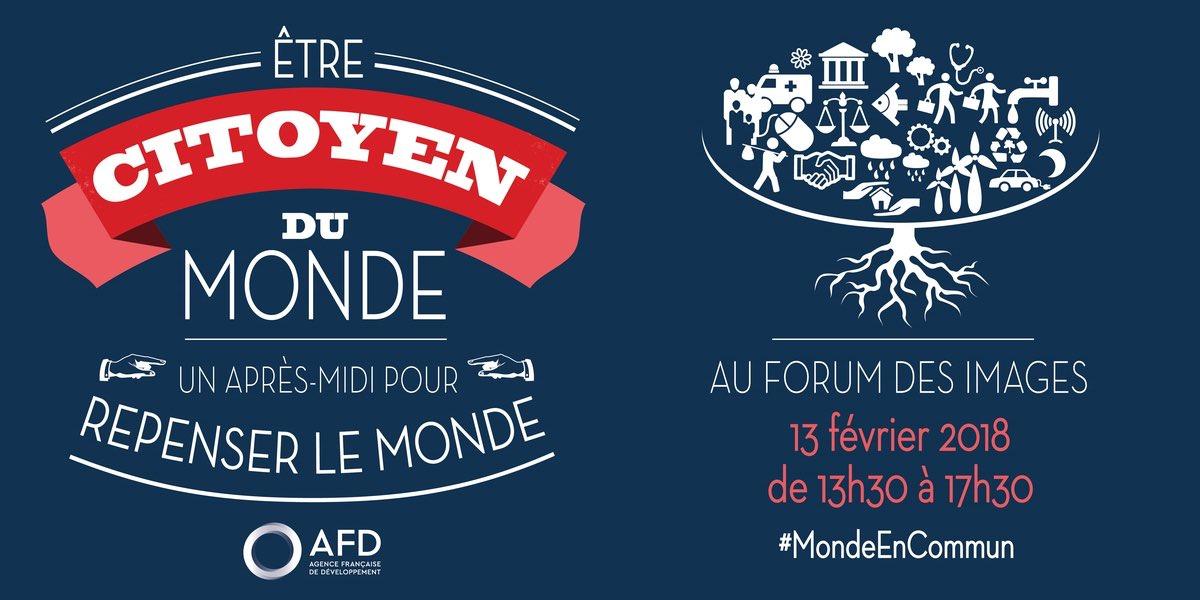 """.@AFD_France organisait le 13 février à Paris une conférence """"Être #CitoyenDuMonde"""", en partenariat avec @UNICEF_france.300 jeunes réunis pour partager expériences et idées sur un monde meilleur.Découvrez quelques témoignages  http://bit.ly/2oo3MoZ #MondeEnCommun  - FestivalFocus"""
