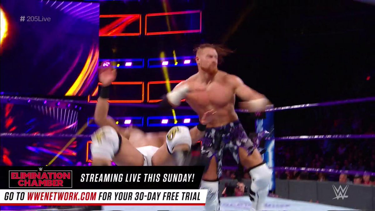 It was an IMPRESSIVE #205Live debut for @WWE_Murphy!