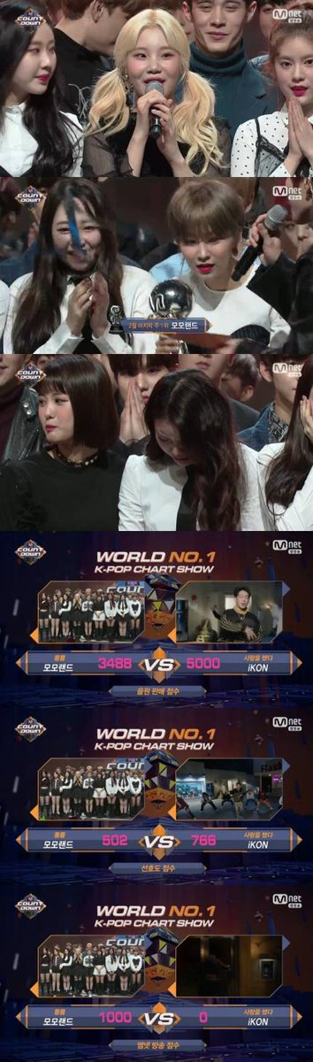 MOMOLAND wins another trophy on MCountdo...