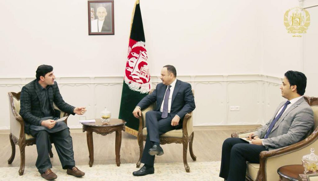I had a great talk with Governor of Paktia on fighting against corruption and reforms in customs office of the province.