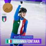 Image for the Tweet beginning: ANCORA ARIANNA!! CHE FENOMENO!! 🇮🇹🥉💙  Arianna