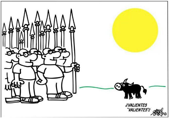 Desde sus viñetas, contra el Maltrato An...