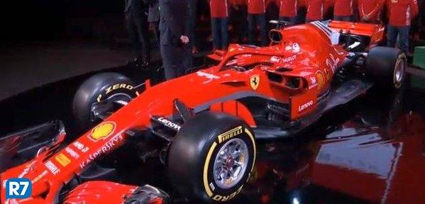 Ferrari lança novo carro para temporada 2018 da Fórmula 1 https://t.co/TjfMdsp2Eb