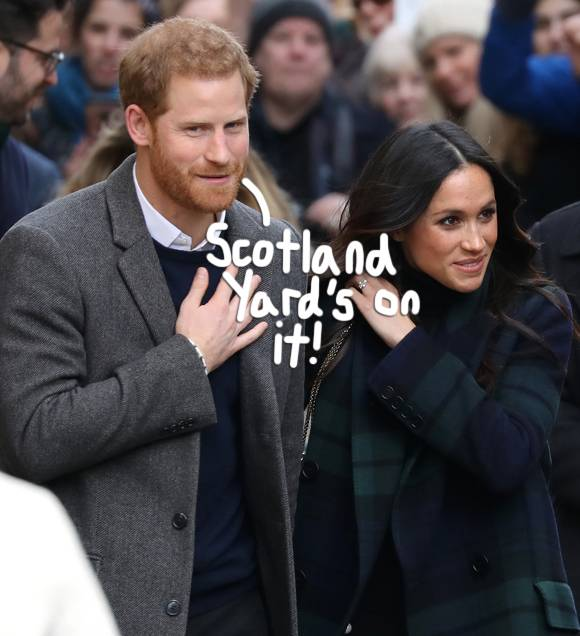 Scotland Yard is investigating Prince Harry & Meghan Markle's anthrax scare! https://t.co/64psyfXDkC